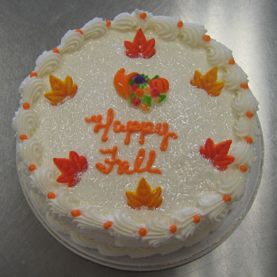Thanksgiving Dessert Cake